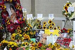 Lugn begravning av finsk mc