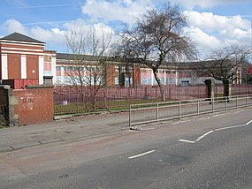 Former Drumoyne Primary School on Shieldhall Road (geograph 1784945).jpg