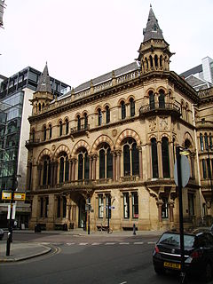 Manchester Reform Club Listed building in Manchester, England