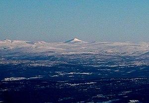 Forollhogna - Image: Forollhogna From Ilfjellet