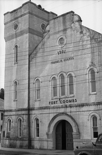 Franklin Guards - Image: Fort Coombs Apalachicola Florida