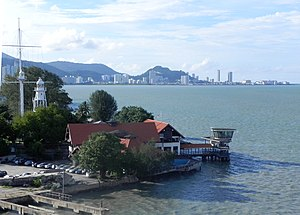 Penang Strait - North Channel off the northern coastline of George Town
