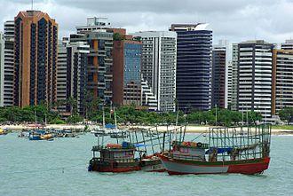Largest cities of northeastern Brazil - Fortaleza