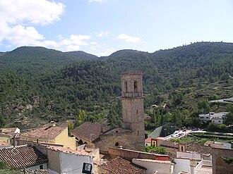 Andilla - Image: Foto de Andilla desde la ermita