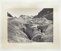Fotografi av glaciären Mer de Glace - Hallwylska museet - 103136.tif