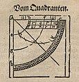 Fotothek df tg 0001546 Geometrie ^ Vermessung ^ Vermessungsinstrument ^ Quadrant (cropped).jpg