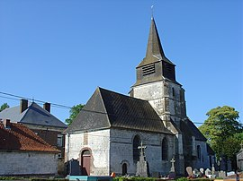 The church of Foufflin-Ricametz