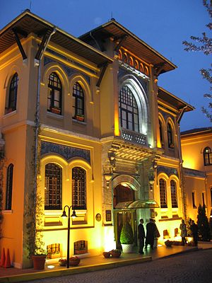 Sultanahmet Jail - Main entrance of the hotel (former Sultanahmet Jail)