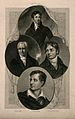 Four poets; Thomas Campbell, George Crabbe, Lord Byron, and Wellcome V0006788.jpg