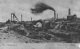 Forest of Dean Coalfield - Foxes Bridge Colliery, ca. 1900
