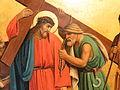 Fr Pfettisheim Chemin de croix station V Christ detail.jpg