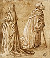 Fra Carnevale - A Woman and a Kneeling Monk - WGA04269.jpg