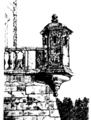 Fragment murów zamku podhereckiego - Encyklopedia Glogera.png