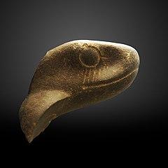 Fragment of cobra head-MAHG A 2004-0049