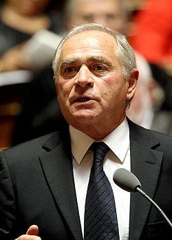 François Patriat en 2008
