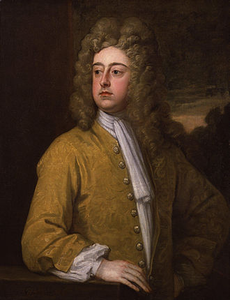 Francis Godolphin, 2nd Earl of Godolphin - The 2nd Earl of Godolphin.