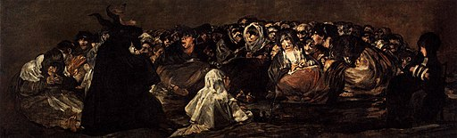 Francisco de Goya y Lucientes - Witches Sabbath (The Great He-Goat) - WGA10108