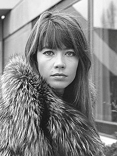Françoise Hardy French singer and actress