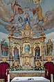 Frankenwinheim Kirche Johannes der Täufer Altar 5201427 HDR.jpg