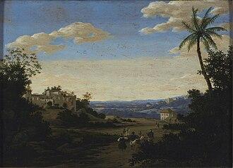 Frans Post - View of Pernambuco, Brazil, ca. 1637-44, Museu Nacional de Belas Artes.