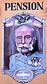 Franz Josef I. Fassadenmalerei Pension Kaiser von Österreich, Kärnten.jpg