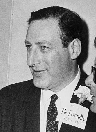 Fred W. Friendly - Friendly in 1961