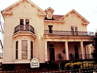 National Register of Historic Places listings in Gibson County, Tennessee - Image: Freed House on Eaton Street in Trenton, TN