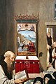 Frei carlos, trittico del calvario, 1520-30 ca. 02 professione di santa paola 2.jpg