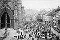 Freiburg im Breisgau Münsterplatz 1906.jpg