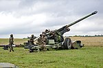 French TRF1 155 mm, live-fire exercise for Combined Endeavor 2013 .jpg