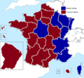 French presidential election (2. round) results (including overseas) by region, 2012.png