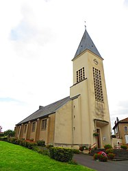 The church in Fresnes