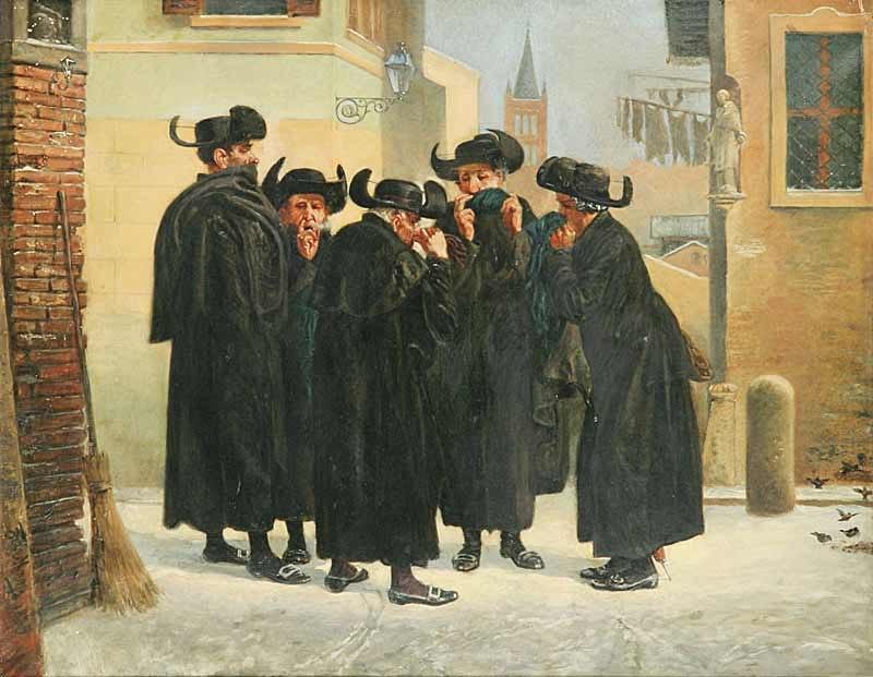Friedberg-Mirohorsky Emanuel Salomon - Jews Taking Snuff 015