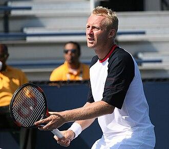 Leoš Friedl - Image: Friedl 2009 US Open 01