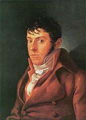 Le peintre et écrivain Friedrich August von Klinkowström