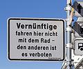 Friedrichshafen - Schild Radfahren verboten 001.jpg