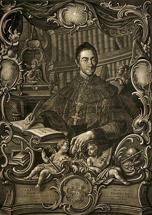 Frobenius Forster - Image: Frobenius Forster, prince abbott