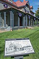 Front porch sign - Lawnfield - Garfield House Historic Site (30140455033).jpg