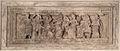 Fronte di urna volterrana con ulisse e circe, gruppo dell'astragalo II, 110-90 ac ca. 02.JPG