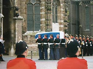 Prince Claus of the Netherlands - Funeral of Prince Claus