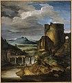 Géricault - Grand paysage d'Italie - Paysage au tombeau, InvDut.1170.jpg