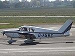 G-ASWX Piper Cherokee P28A (35359958281).jpg