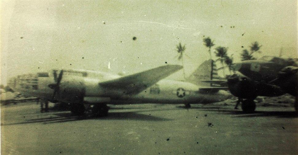 G4M in USAAF markings