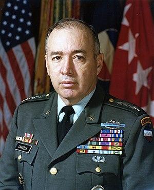 Richard E. Cavazos - General Richard E. Cavazos
