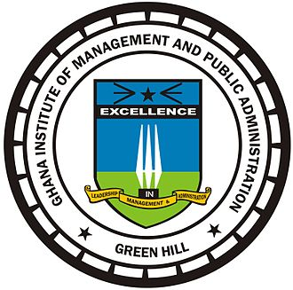Ghana Institute of Management and Public Administration - Image: GIMPA (Ghana Institute of Management and Public Administration) logo