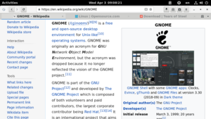 GNOME Web 3.30 (2018-09) on GNOME Shell 3.30 with default theme