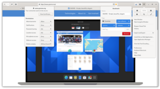 GNOME Web free and open-source web browser for Unix-like systems
