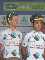 GP Isbergues 2013 - Coureurs AG2R 2.JPG
