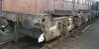 Great Western Railway wagons - Four A6 Pollens