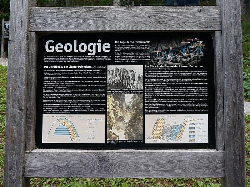 File:Galitzenklamm - Geologie und Lage in den Lienzer Dolomiten, Osttirol.jpg